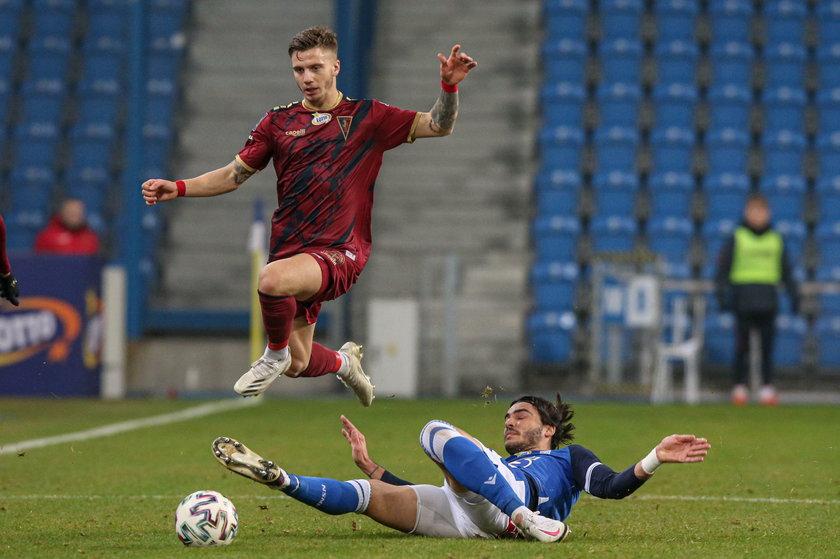 Pogoń Szczecin wygrała z Lechem 4:0