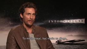 """Matthew McConaughey o """"Interstellar"""": co za umysł go stworzył!"""