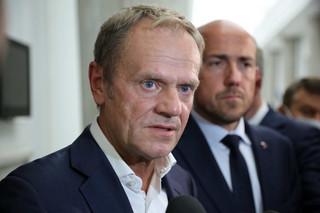 Tusk: Klub KO będzie przeciw specustawie ws. budowy zapory