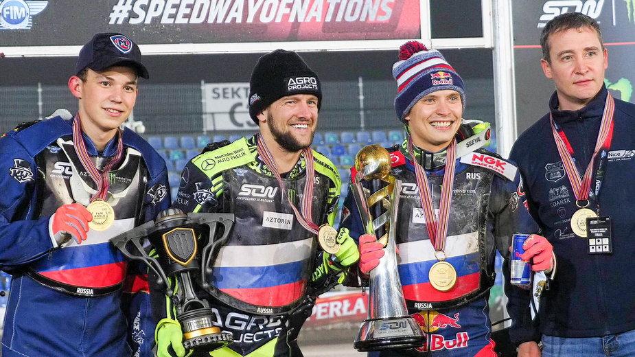 Emil Sajfutdinow, Artiom Łaguta, Jewgienij Sajdulin, reprezentacja Rosji, Speedway of Nations