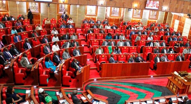 Parliament during a past session