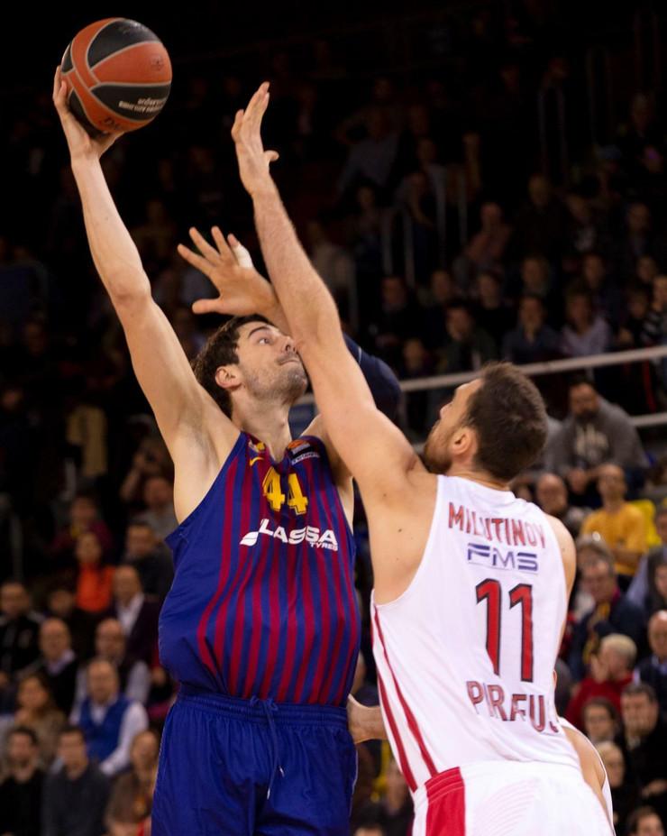 KK Barselona, KK Olimpijakos