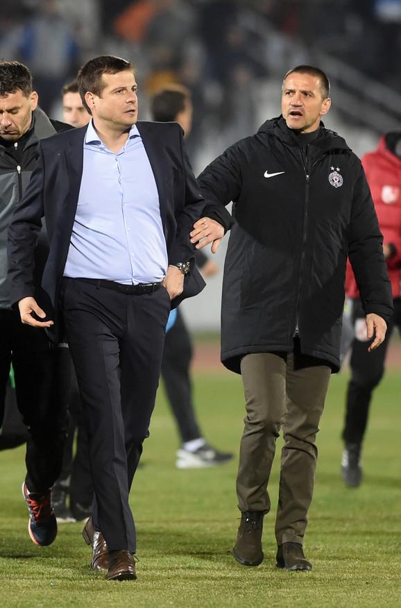 Nenad Lalatović i Zoran Mirković