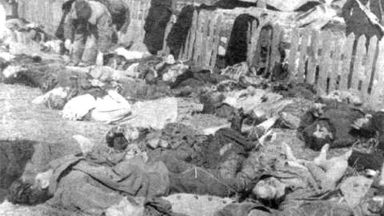 Rzeź wołyńska. Polacy ze wsi Lipniki zamordowani przez oddział UPA w nocy z 26 na 27 marca 1943 roku