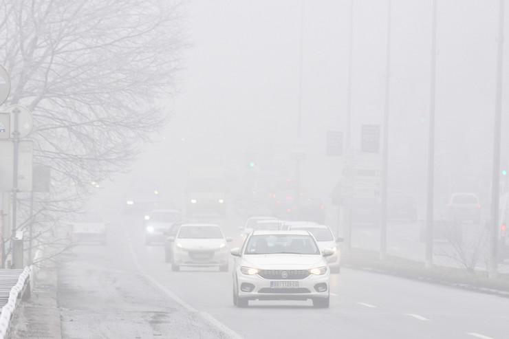 Novi Sad1848 mraz i magla u gradu foto Nenad Mihajlovic