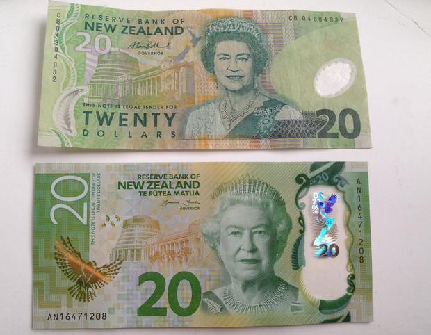 Banknoty 20 NZD