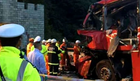 TRAGEDIJA U KINI Autobus udario u zid tunela, 36 osoba poginulo