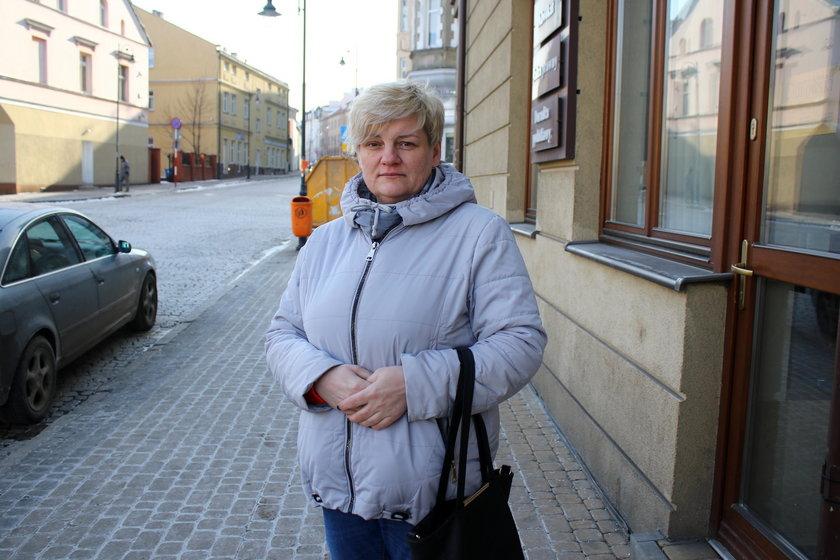 Pani Kamila Gorzyńska pierwsza zaczęła wzywać pomoc