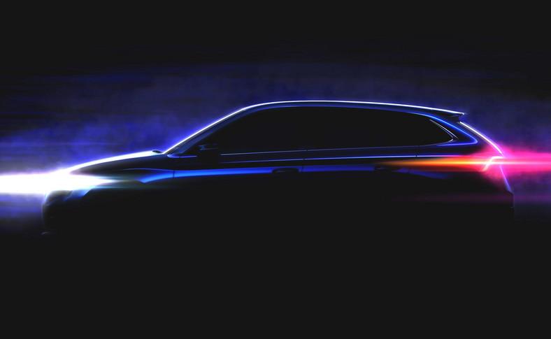 Nowy hatchback Skody - proporcje identyczne, jak w prototypowym Vision RS (foto niżej)
