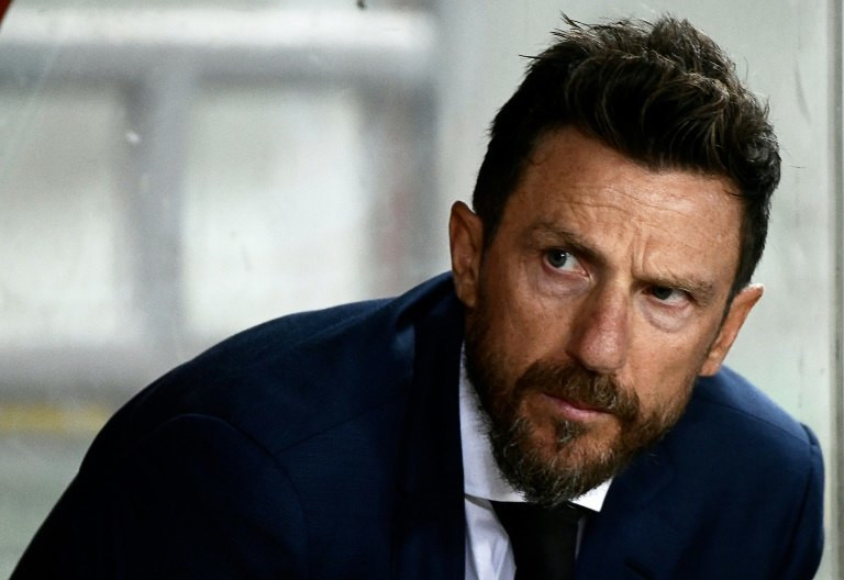 Roma win to ease the pressure on coach Eusebio Di Francesco.