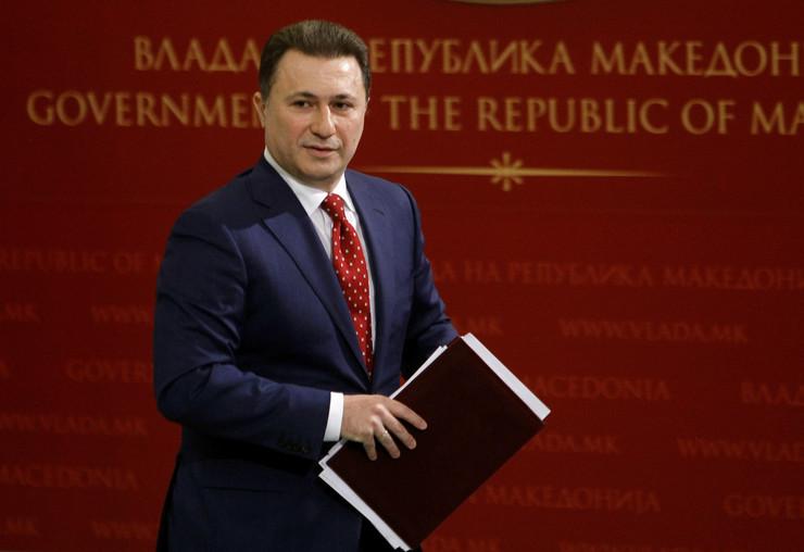 """Gruevski kaže da """"Zaev dobija već napisan scenario"""" koji samo prepričava na konferencijama za štampu"""
