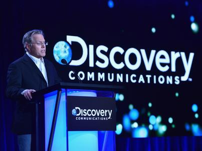 CEO Discovery Communications David Zaslav