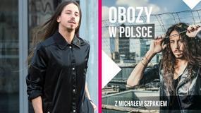 """Michał Szpak zaprasza na """"obozy w Polsce"""". Wpadka grafika?"""