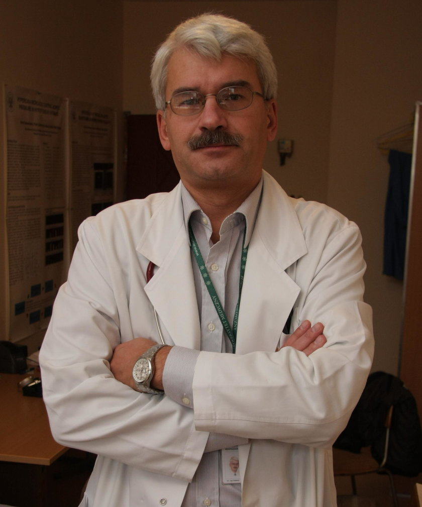dr Jacek Lewandowski, kardiolog