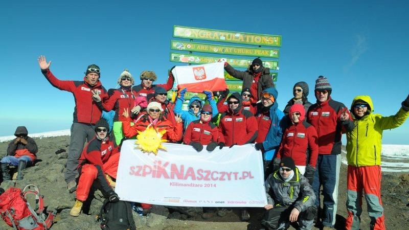 Szpik na szczycie Kilimandżaro
