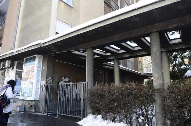 Zgrada ispred koje se dogodilo ubistvo