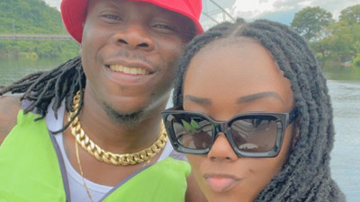 Stonebwoy and wife celebrate 4th marriage anniversary (PHOTOS)