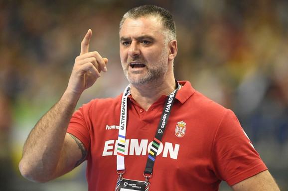 Nenad Peruničić, selektor Srbije