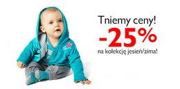 25 proc. rabatu na kolekcję jesień/zima w 5-10-15