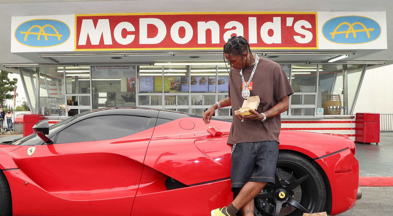 Travis Scott reportedly earned $20 million through his partnership with McDonald's