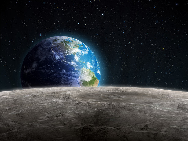 Ksieżyc i ziemia