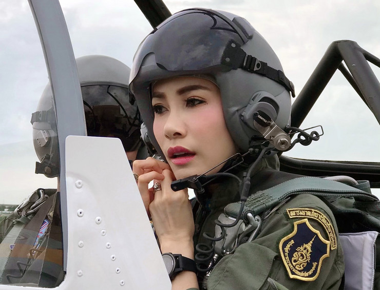 Tajlandska kraljica Sinenat