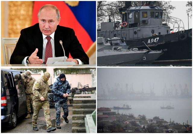 Kolaž Rusija Ukrajina Krim