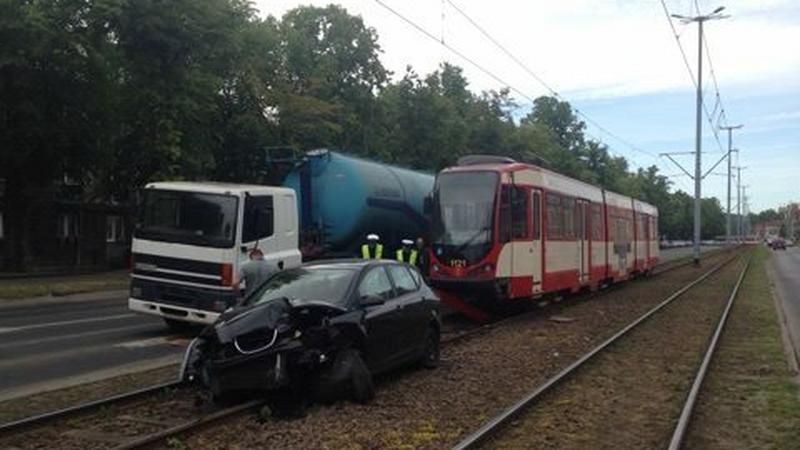Wypadek. KW PSP Gdańsk