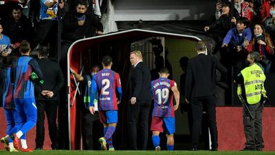 Defeat against Rayo Vallecano was the final straw for Barcelona bosses Creator: OSCAR DEL POZO