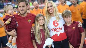 Ilary Blasi - to ona od lat wspiera Francesco Tottiego
