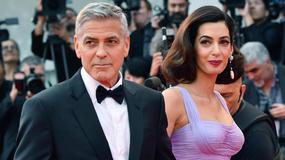 "Wenecja 2017: George Clooney i Amal Clooney na premierze ""Suburbicon"""