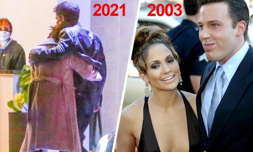 Jennifer Lopez i Ben Affleck zaczęli spotykać siępo szesnastu latach od zerwania zaręczyn.