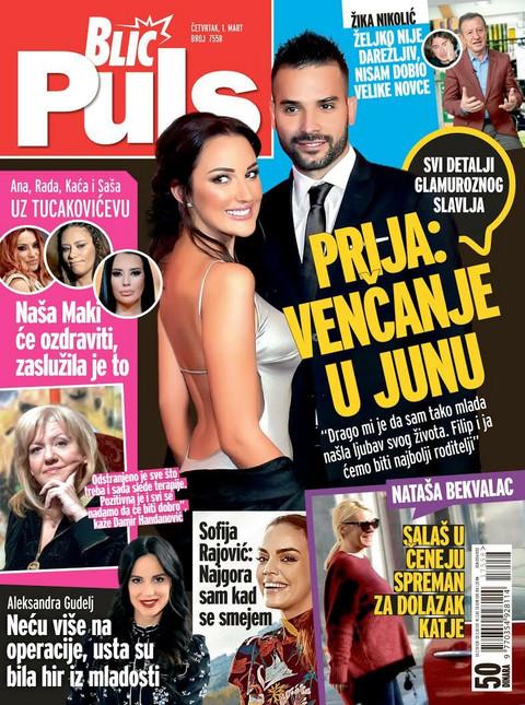 """EKSKLUZIVNO! Aleksandra Prijović za """"Blic puls"""": Venčanje u junu!"""