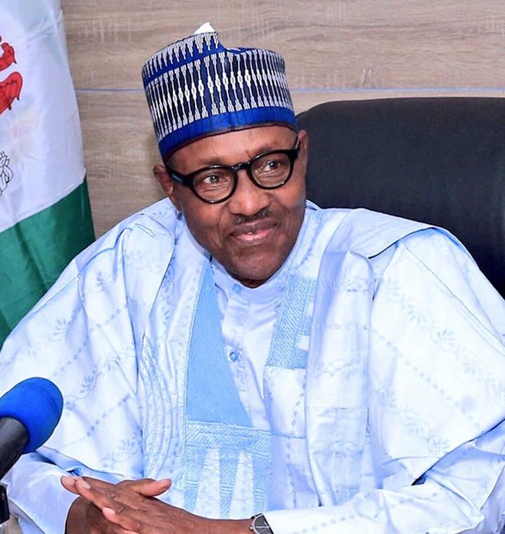 President Muhammadu Buhari . [Twitter/@GovBello]
