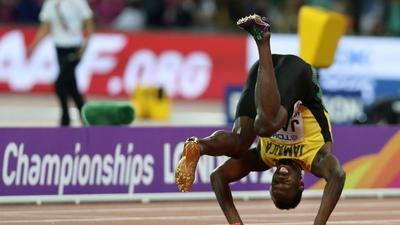 Team-mates blame organisers for Bolt's world champs collapse