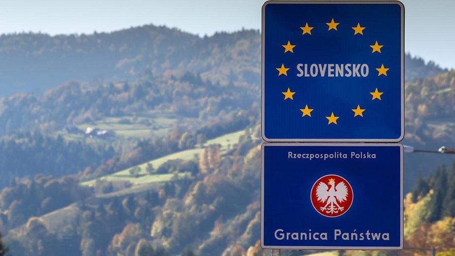 Słowacja granice. Zamknięte niektóre przejścia z Polską