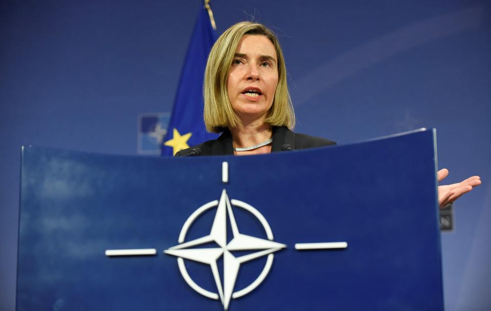 8. Federica Mogherini