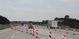 Nowa autostrada już się sypie