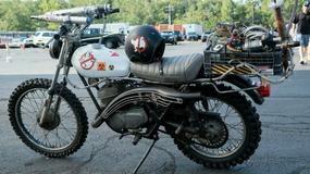 Pogromcy duchów na motocyklu Harley-Davidson