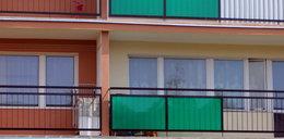 Wyrzuciła przez balkon 13 tysięcy złotych