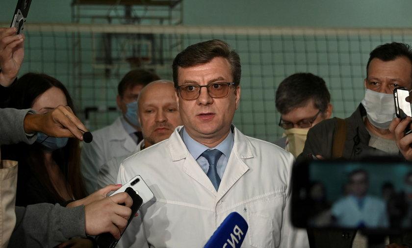 Zaginięcie lekarza Nawalnego.
