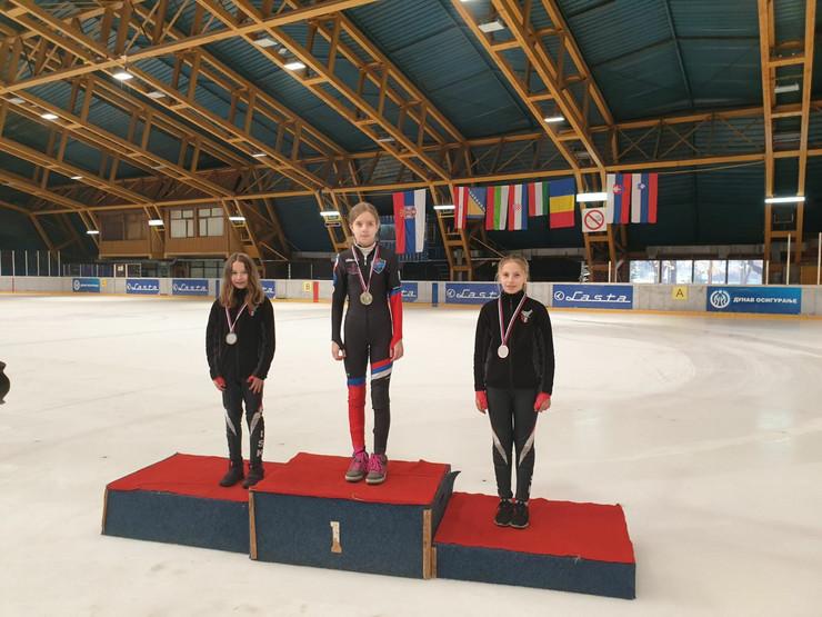 Sofija Rodić osvojila zlato na međunarodnom takmičenju u konkurenciji 19 klizačica iz osam zemalja
