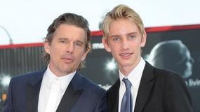 Levon Roan Thurman-Hawke: syn aktorskiej pary na festiwalu w Wenecji