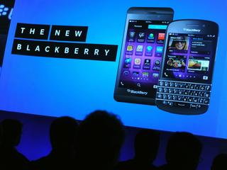 BRITAIN BLACKBERRY Z10 SMARTPHONES LONDON LAUNCH