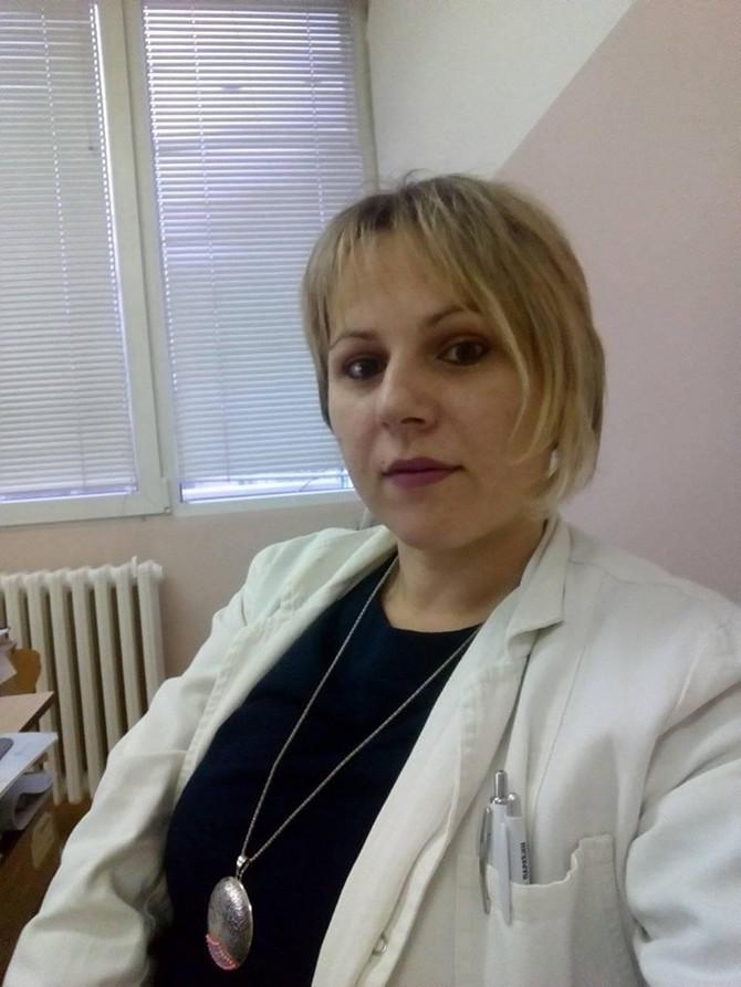 Dr Ana Jaćimović u Domu zdravlja u Paraćinu