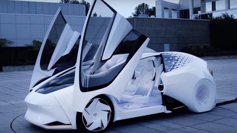 Prototyp samochodu Concept-i stworzony przez Toyota Motor