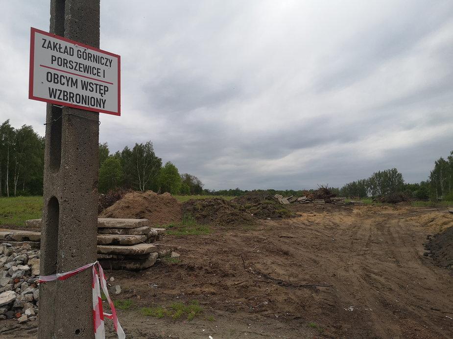 Kopalnia piasku w Porszewicach