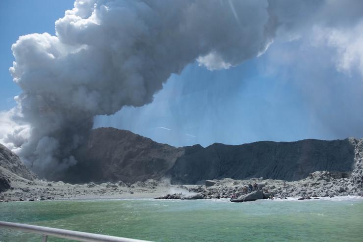 Erupcija vulkana na Novom Zelandu