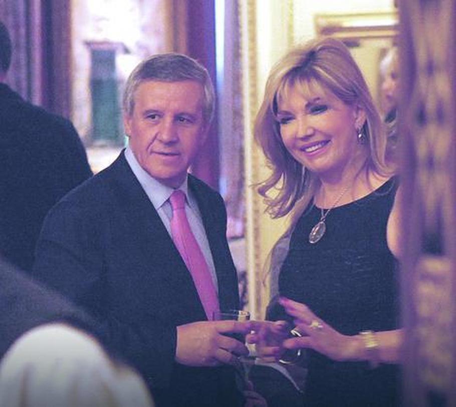 Suzana Mančić i Simeon Ocomokos