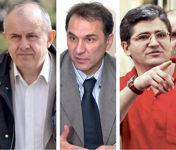 Odbijeni: Kljajević, Živojinović i Pjevčević